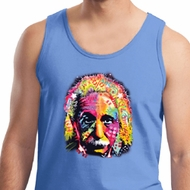 Mens Funny Tanktop Albert Einstein Tank Top