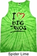 Mens Funny Tanktop I Love Big Trucks Tank Tie Dye Tank Top