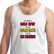 Mens Funny Tanktop Not a Bald Spot Tank Top