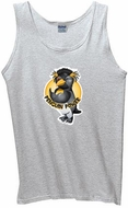 Mens Gym Tank Top - Penguin Power Athletic Tanktop