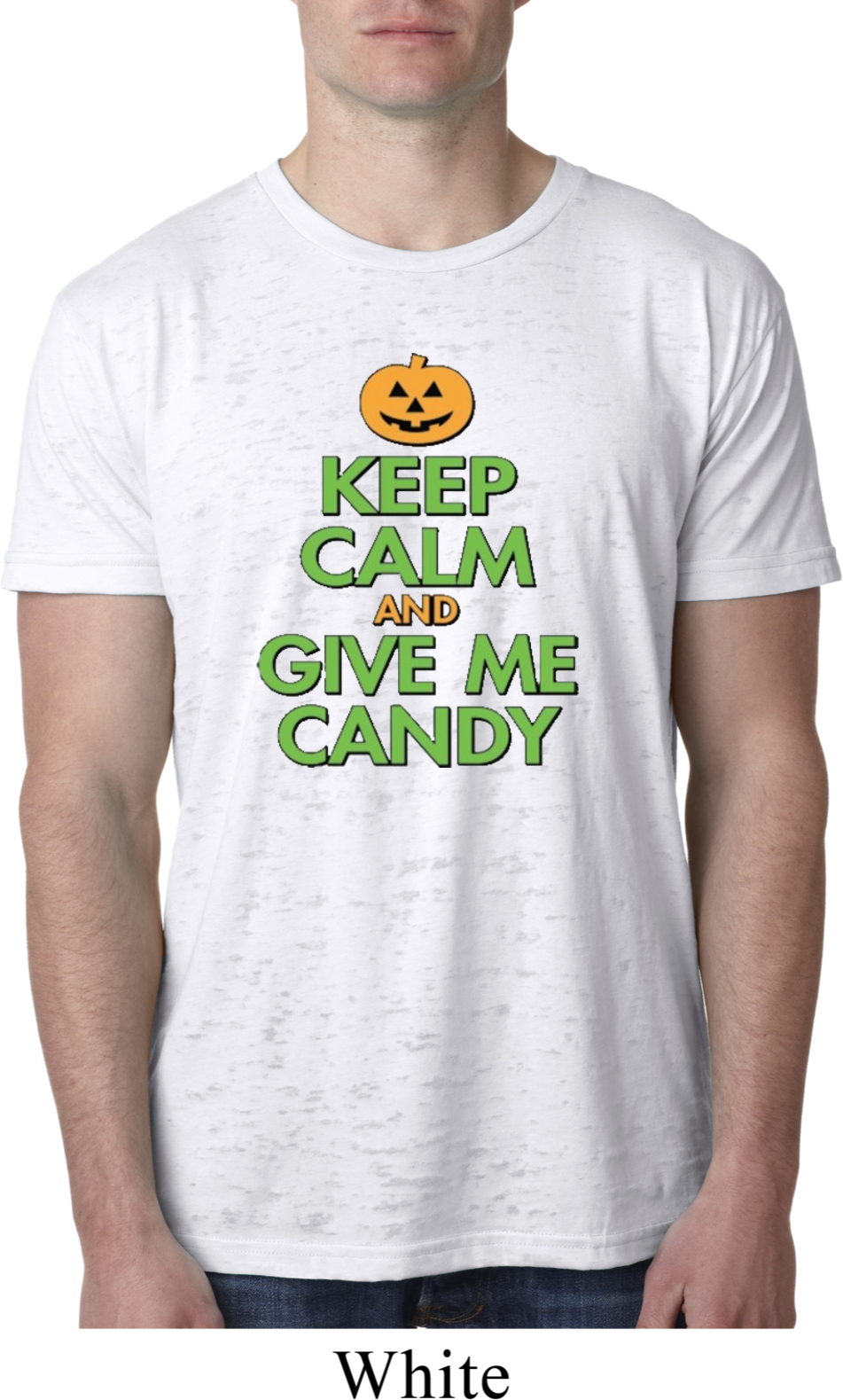 Ford Mustang Hats >> Mens Halloween Shirt Keep Calm and Give Me Candy Burnout ...