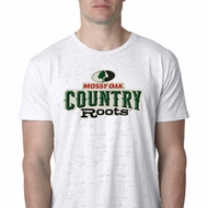 Mens Mossy Oak Country Roots Burnout Shirt