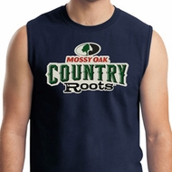 Mens Mossy Oak Country Roots Muscle Shirt