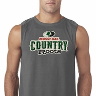 Mens Mossy Oak Country Roots Sleeveless Shirt