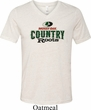 Mens Mossy Oak Country Roots Tri Blend V-neck Shirt