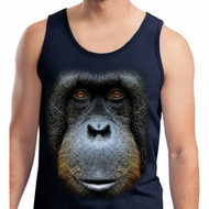Mens Orangutan Tanktop Big Orangutan Face Tank Top
