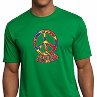 Mens Peace Shirt Funky Peace Moisture Wicking Tee T-Shirt