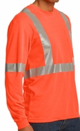Mens Reflective Tape High Visibility Multipurpose Shirt