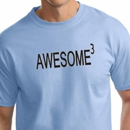 Mens Shirt Awesome Cubed Tall Tee T-Shirt