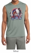Mens Shirt Big Chief Indian Motorcycle Sleeveless Moisture Wicking Tee