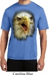 Mens Shirt Big Eagle Face Moisture Wicking Tee T-Shirt