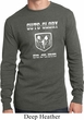 Mens Shirt Guts and Glory Ram Logo Long Sleeve Thermal Tee T-Shirt