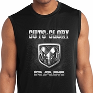 Mens Shirt Guts and Glory Ram Logo Sleeveless Moisture Wicking Tee