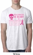 Mens Shirt Halloween Scary Breast Cancer Deadly Burnout Tee T-Shirt