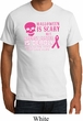 Mens Shirt Halloween Scary Breast Cancer Deadly Organic Tee T-Shirt