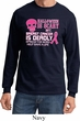 Mens Shirt Halloween Scary Cancer Deadly Long Sleeve Tee T-Shirt
