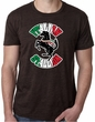 Mens Shirt Italian Stallion Burnout Tee T-Shirt