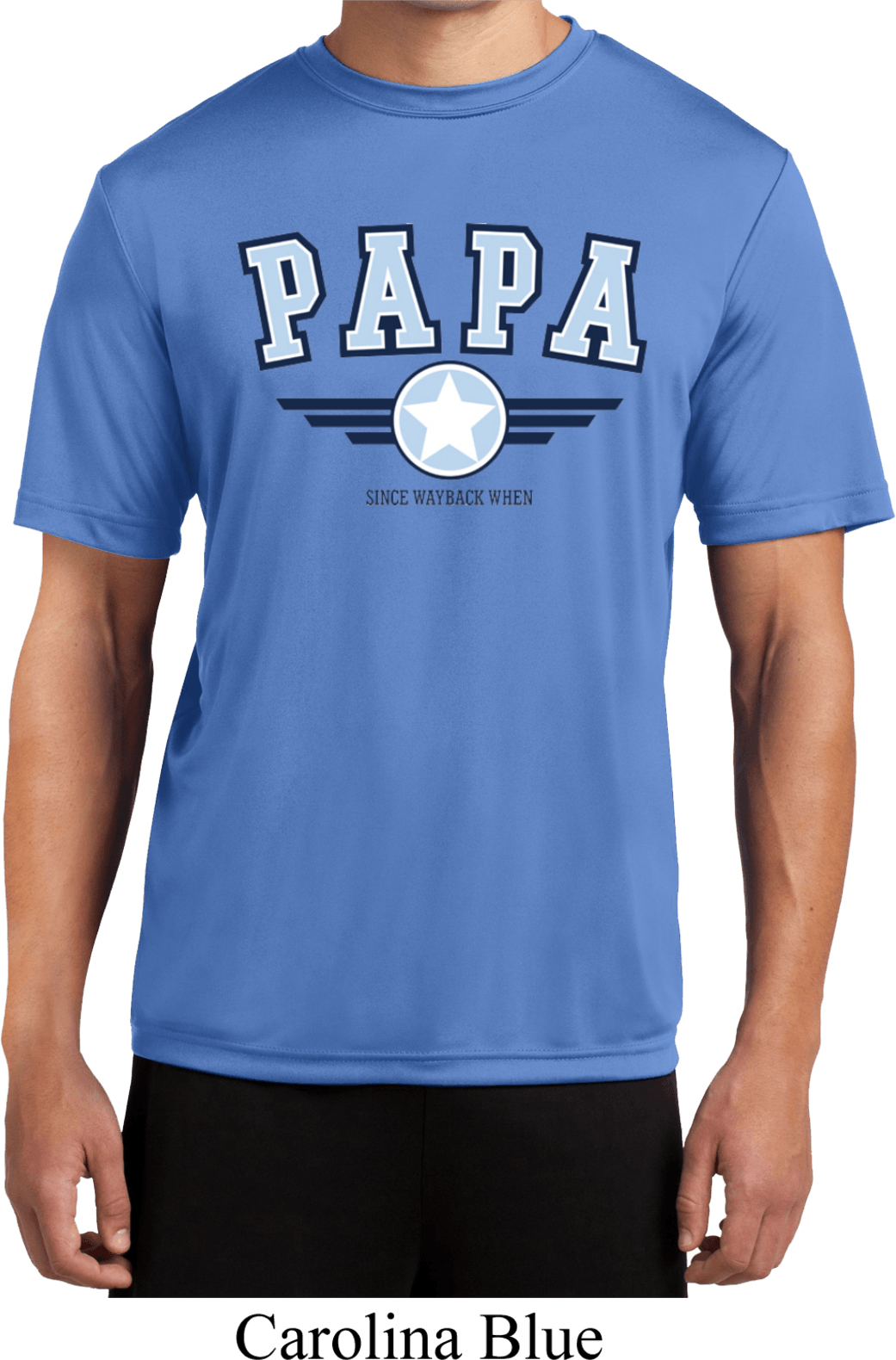 mens shirt papa moisture wicking tee t shirt papa mens shirts. Black Bedroom Furniture Sets. Home Design Ideas
