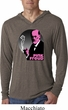 Mens Shirt Pink Freud Lightweight Hoodie Tee T-Shirt