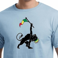 Mens Shirt Rasta Triangle Organic Tee T-Shirt
