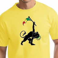 Mens Shirt Rasta Triangle Tall Tee T-Shirt