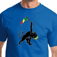 Mens Shirt Rasta Triangle Tee T-Shirt