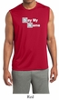 Mens Shirt Say My Name Sleeveless Moisture Wicking Tee T-Shirt