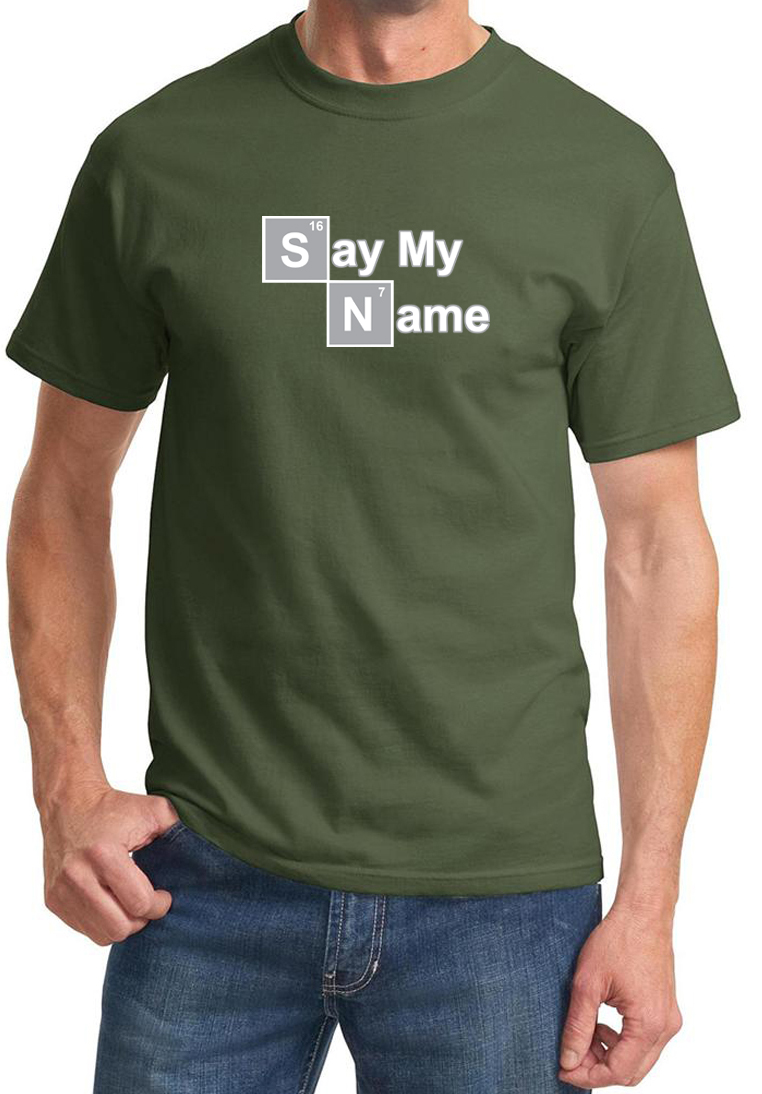 mens shirt say my name tee t shirt say my name mens shirts. Black Bedroom Furniture Sets. Home Design Ideas