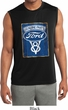 Mens Shirt V8 Genuine Ford Parts Sleeveless Moisture Wicking Tee T-Shirt