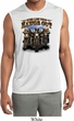 Mens Shirt Who Let Hawgs Out Sleeveless Moisture Wicking Tee T-Shirt