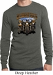 Mens Shirt Who Let The Hawgs Out Long Sleeve Thermal Tee
