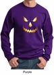 Mens Sweatshirt Pumpkin Head Sweat Shirt