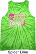 Mens Tanktop Halloween Scary Breast Cancer Deadly Tie Dye Tank Top