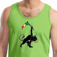 Mens Tanktop Rasta Triangle Tank Top