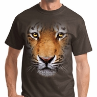 Mens Tiger Shirt Big Tiger Face Tee T-Shirt