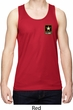 Mens US Army Pocket Print Dry Wicking Tank Top