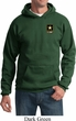 Mens US Army Pocket Print Hoodie