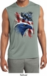 Mens USA American Icon Dry Wicking Sleeveless Shirt
