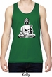 Mens Yoga At Peace Buddha Dry Wicking Tank Top