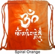 Mens Yoga Bag OM Mani Padme Hum Tie Dye Bag