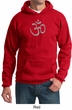 Mens Yoga Hoodie Sweatshirt - Aum Symbol Hooded Sweat Shirt