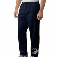 Mens Yoga Pants - Yin Yang Martial Arts - Ankle Print