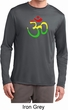 Mens Yoga Rasta Aum Dry Wicking Long Sleeve