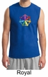Mens Yoga Shirt 7 Chakra Circle Muscle Tee T-Shirt
