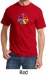 Mens Yoga Shirt 7 Chakra Circle Tee T-Shirt