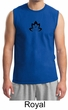 Mens Yoga Shirt Black Namaste Lotus Muscle Tee T-Shirt