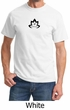Mens Yoga Shirt Black Namaste Lotus Tee T-Shirt