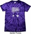 Mens Yoga Shirt Choices Spider Tie Dye Tee T-shirt
