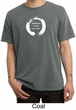 Mens Yoga Shirt Enso Happiness Pigment Dyed Tee T-Shirt