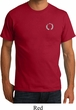 Mens Yoga Shirt Enso Pocket Print Organic Tee T-Shirt